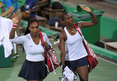 Serena And Venus Williams.