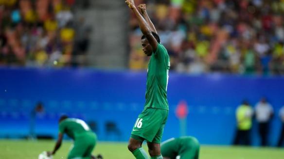 Rio 2016 Nigeria Qualifies For The Olympic Men's Football Quarterfinals.